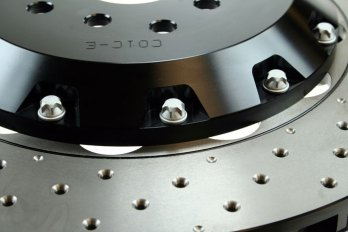 D2 356mm Drilled Disc