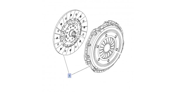 OE Clutch Cover and Disc Astra J VXR