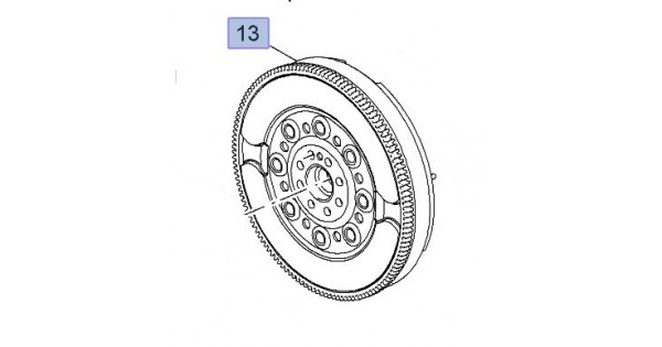 Dual Mass Flywheel Genuine DMF Astra J VXR