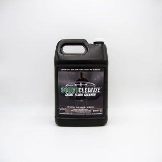 COURTCLEANZE COURT FLOOR CLEANER CONCENTRATE - FOR DAMP CLEANING BASKETBALL GYM FLOORS