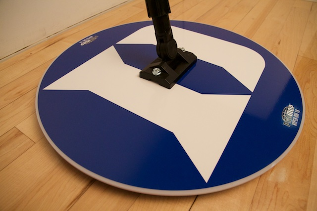 duke basketball round mop