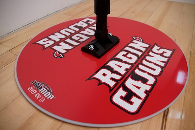 RAGIN-CAJUNS - HYPER-DRI 18 BASKETBALL/VOLLEYBALL SWEAT MOP
