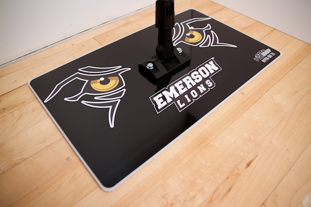 EMERSON - PROMOP HYPER-DRI 20 CUSTOMIZED BASKETBALL/VOLLEYBALL MOP - WITH CUSTOM LOGO AND TEAM COLORS