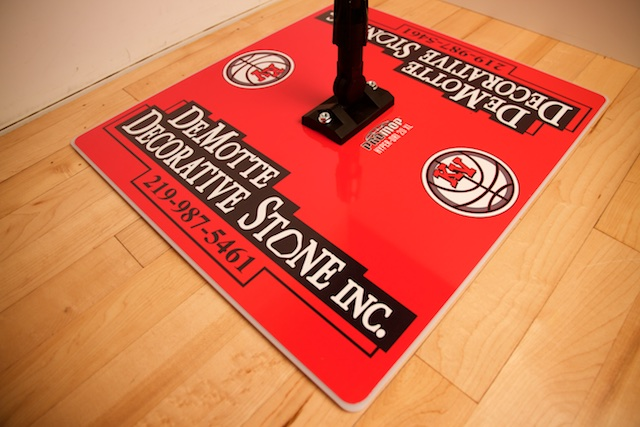 DEMOTTE - PROMOP HYPER-DRI 20XL CUSTOMIZED BASKETBALL/VOLLEYBALL MOP - WITH CUSTOM LOGO AND TEAM COLORS