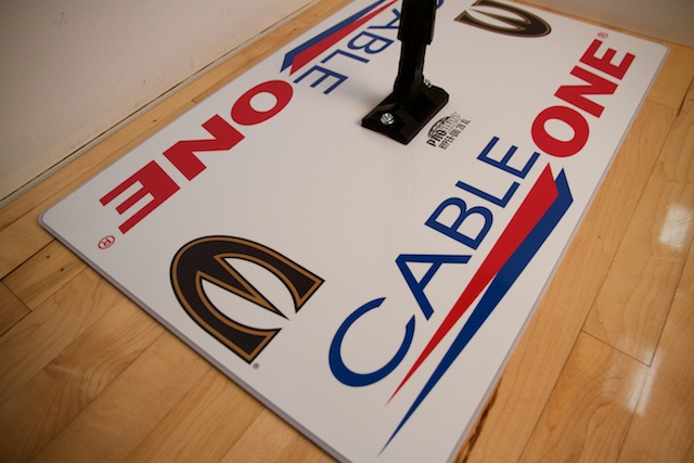 CABLE ONE - PROMOP HYPER-DRI 28 CUSTOMIZED BASKETBALL/VOLLEYBALL MOP - WITH CUSTOM LOGO AND TEAM COLORS