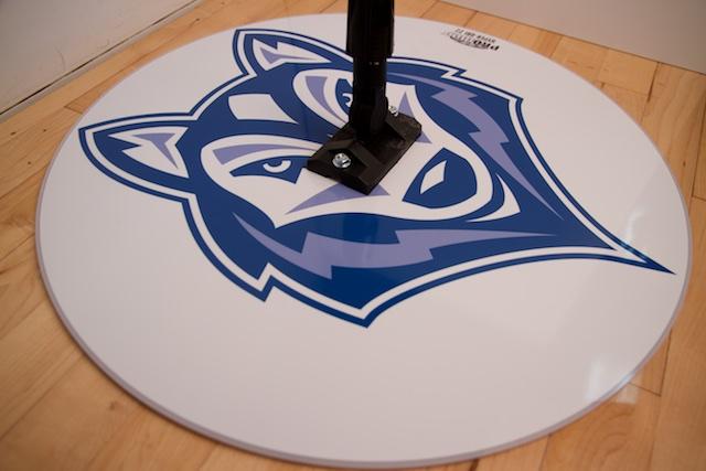 WOLF - HYPER-DRI 22 ROUND BASKETBALL/VOLLEYBALL SWEAT MOP