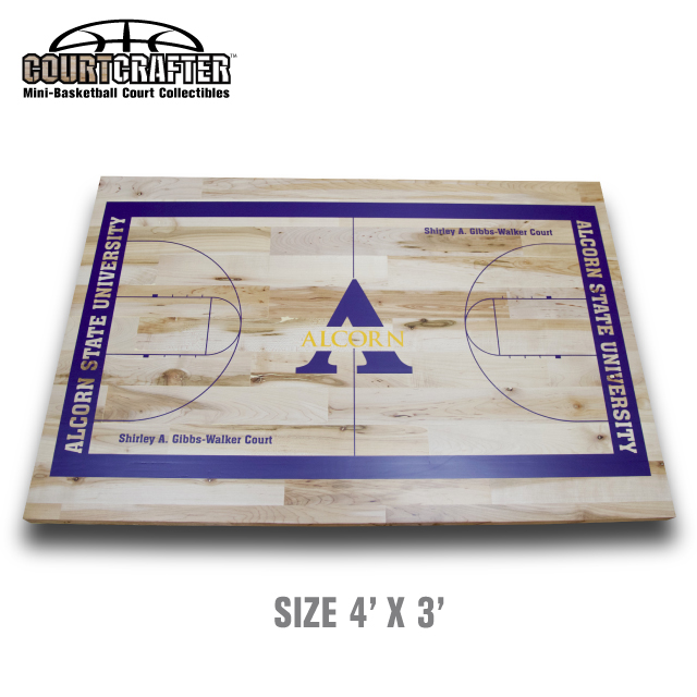 COURTCRAFTER  MINI BASKETBALL COURT COLLECTIBLES
