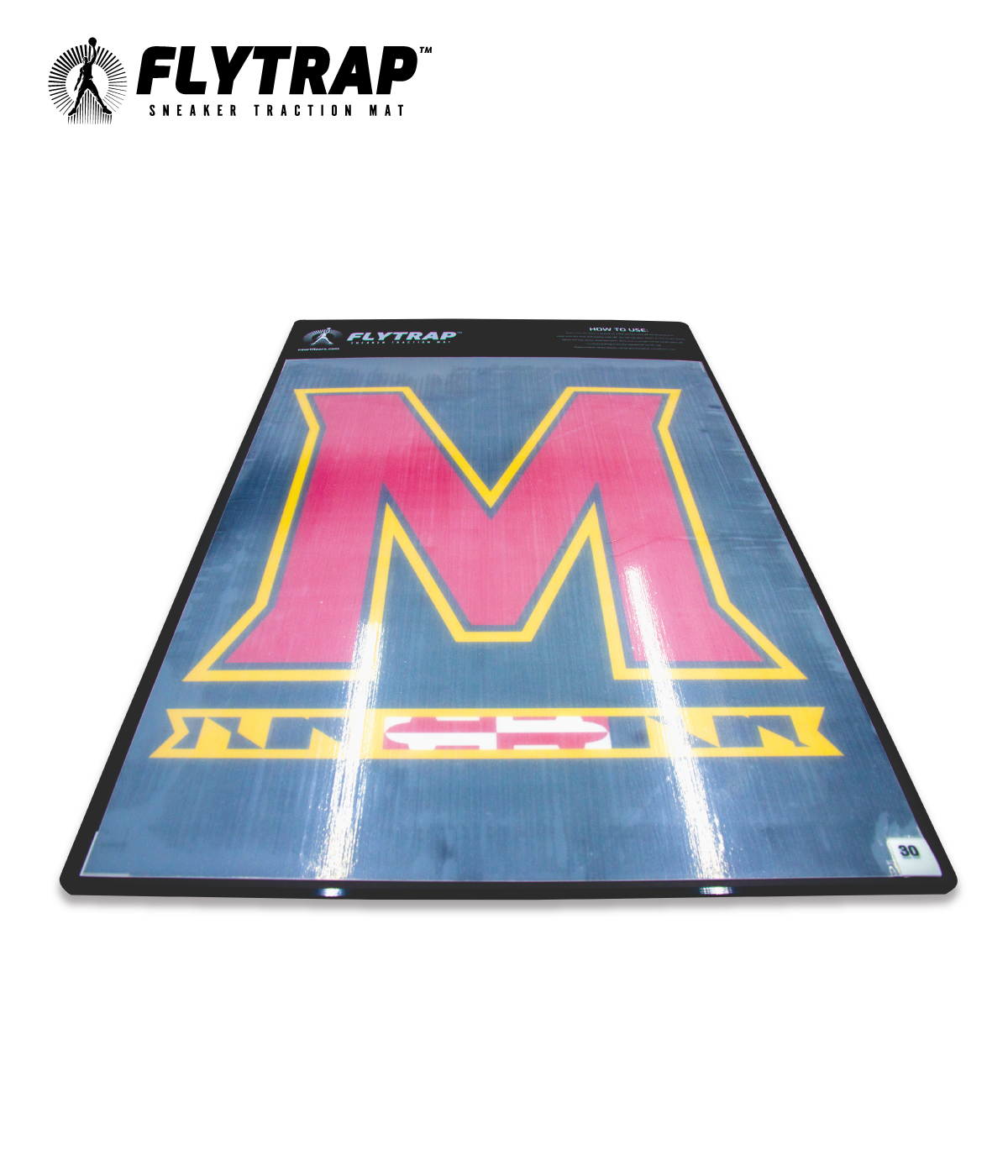 FLYTRAP SNEAKER TRACTION MAT FOR BASKETBALL AND VOLLEYBALL WITH 30 STICKY SHEETS