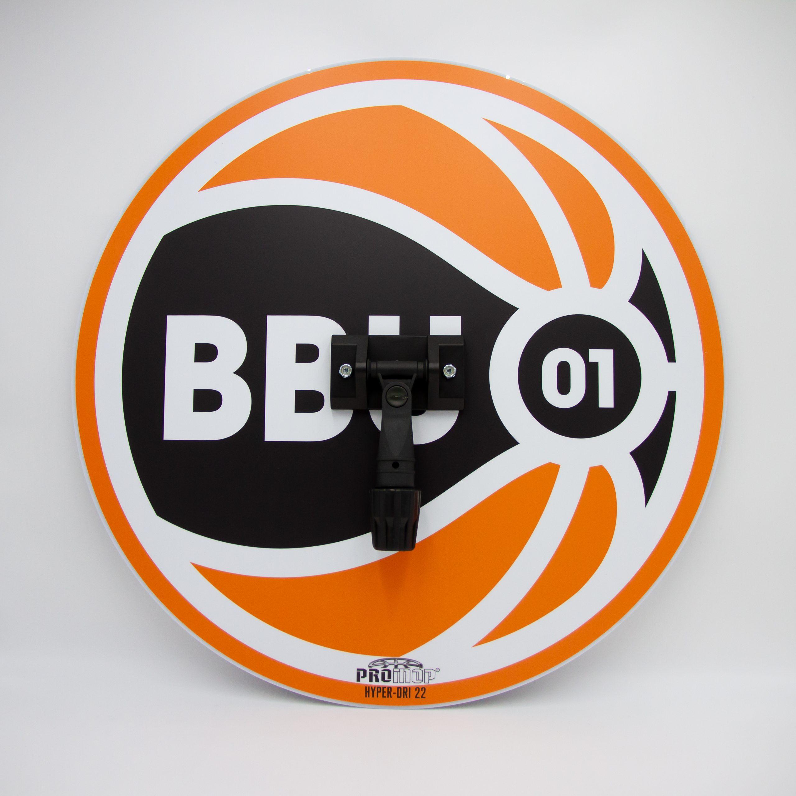 PROMOP HYPER-DRI 22 - ROUND BASKETBALL SWEAT MOP FIBA