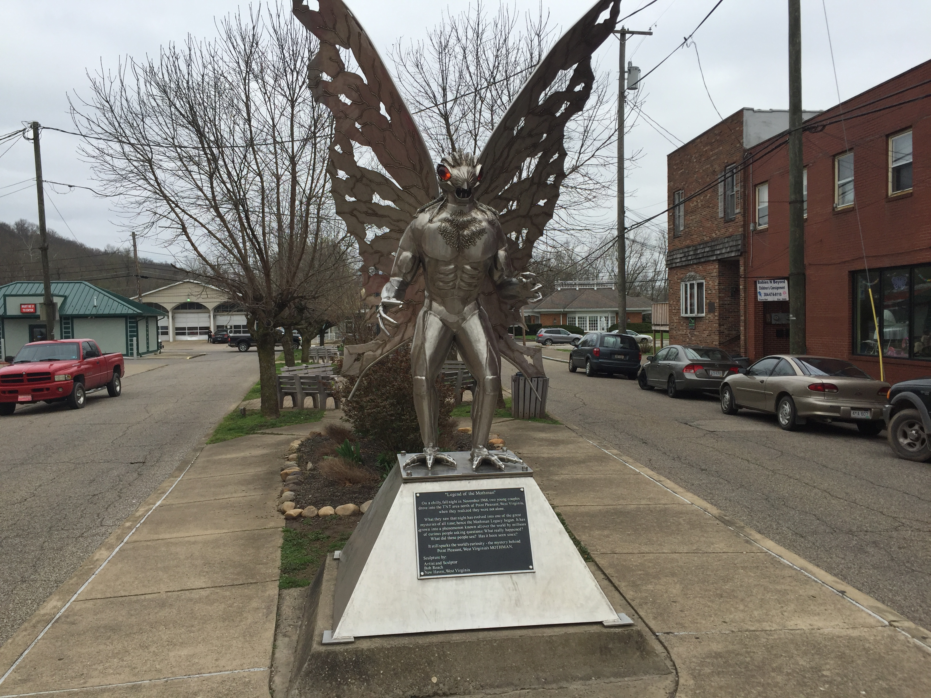 Dispatches From the Road: On The Trail of the Mothman
