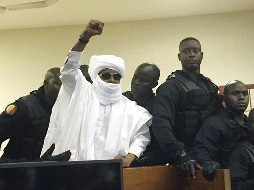 Court upholds life sentence for former Chad ruler Hissene Habre
