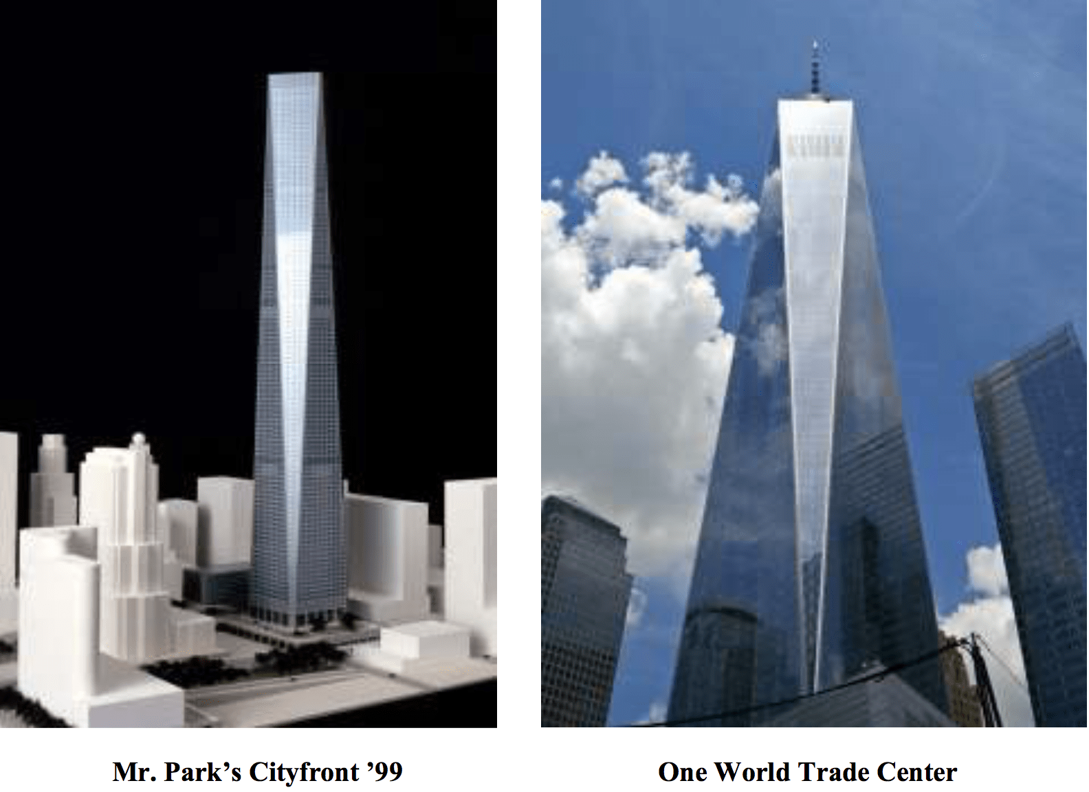 Designers Of Freedom Tower Hit With Copyright Action
