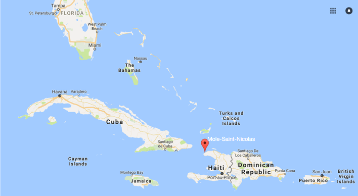 Retired Army Colonel Charged In Haitian Bribery Scheme - Map-of-haiti-and-us