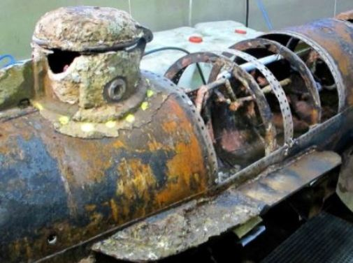 Civil War Submarine Crew Likely Killed by Torpedo Shockwave