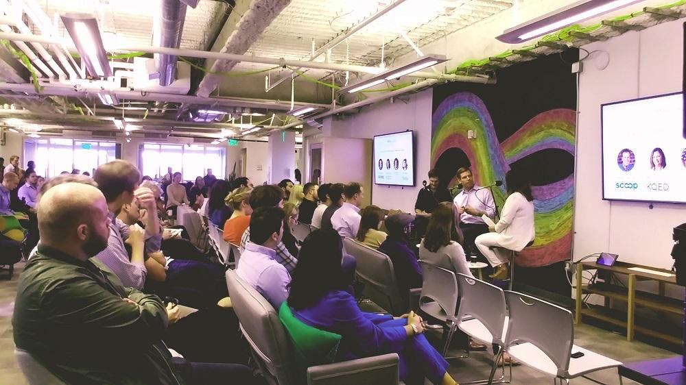 2020 Hopeful Swalwell Talks Student Debt in Bay Area Stump