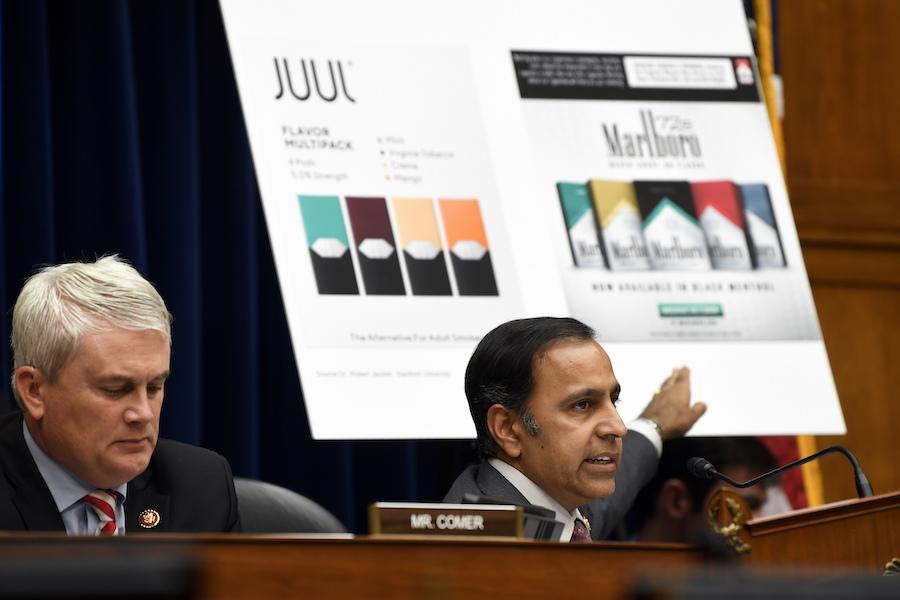 House Panel Grills Juul Chief Over E-Cig Marketing Tactics
