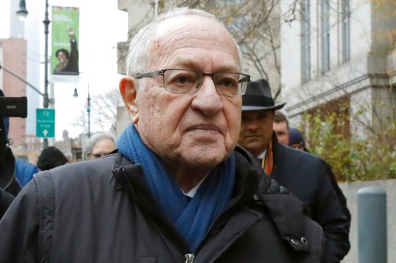 Alan Dershowitz leaves federal court in New York on Dec. 2, 2019. President Donald Trump's legal team will include the former Harvard University law professor and Ken Starr, the former independent counsel who led the Whitewater investigation into President Bill Clinton, according to a person familiar with the matter. (AP Photo/Richard Drew)