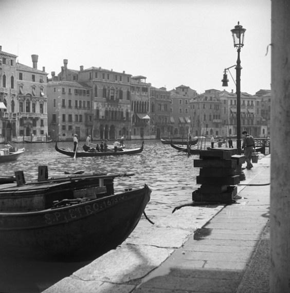 Gondolas and commerce on Venice's Grand Canal. (Walt Girdner photo)