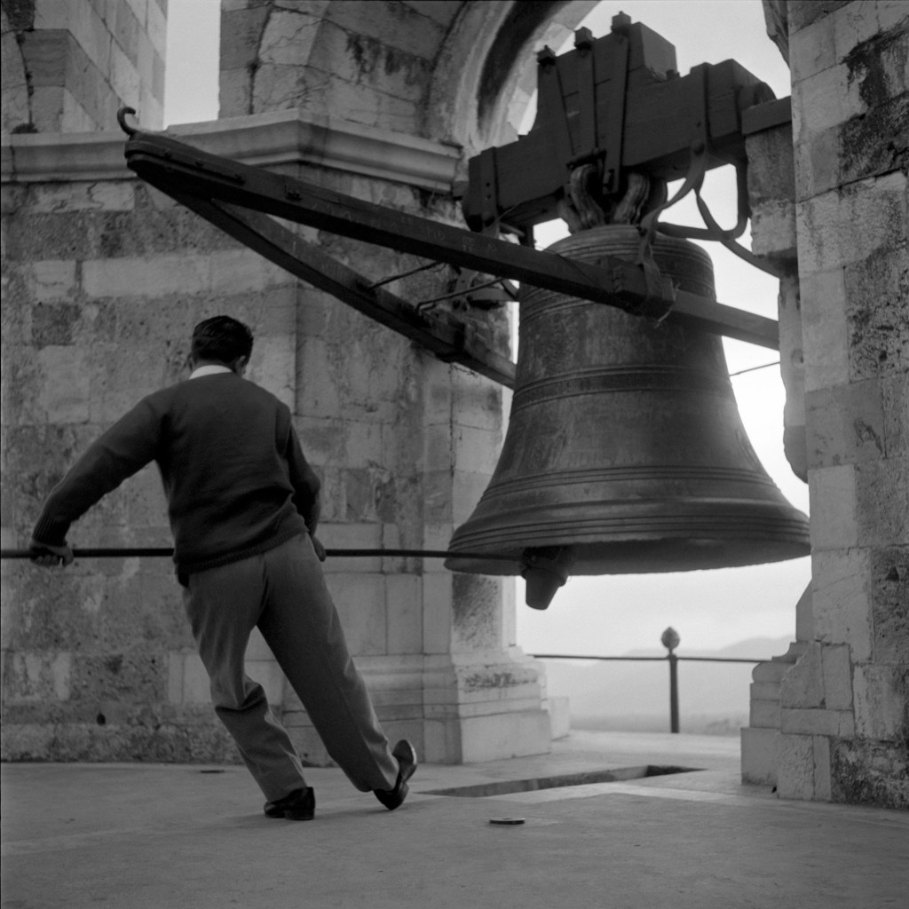 The Bell Ringer, part of Walt Girdner's series from around the Adriatic Sea.