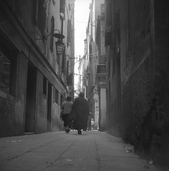 Walking home at the end of the day, Venice, Italy. From Walt Girdner's Europe collection