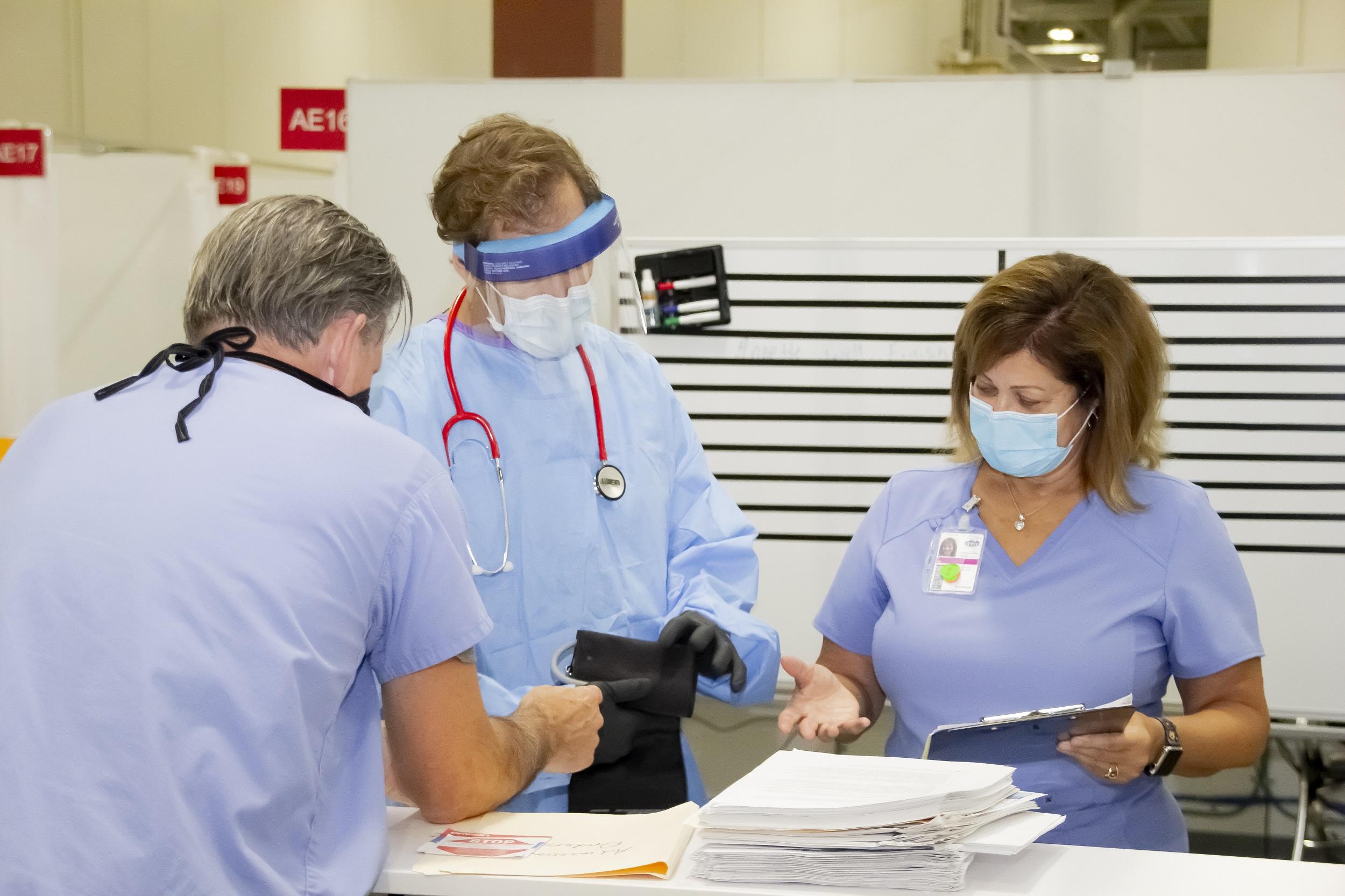 Wisconsin Activates Field Hospital Amid Record Coronavirus Surge