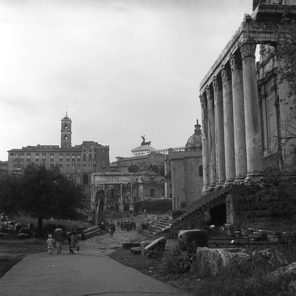 A day at the Forum in Rome. From Walt Girdner's Europe collection.