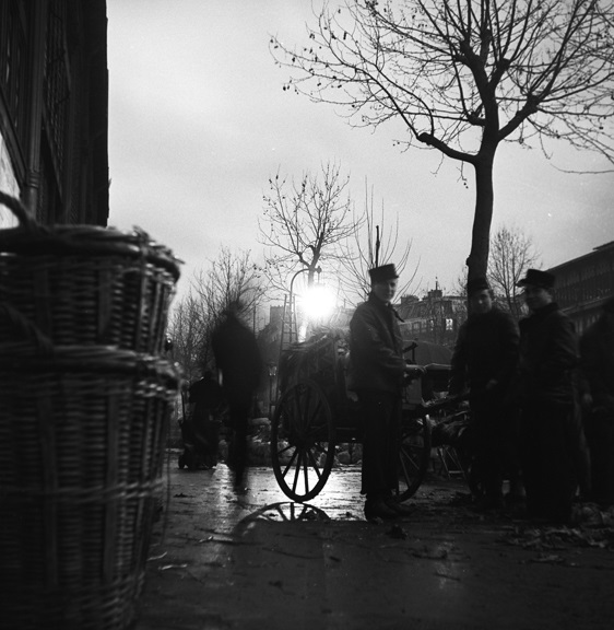 Dreary morning at Les Halles public market. From Walt Girdner's Paris collection.