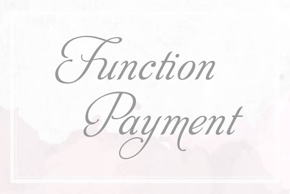 Function Payment