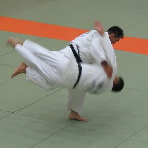 Harai goshi throw
