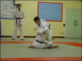 John Buchanan Leg Grab