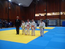 South Coast Open medals