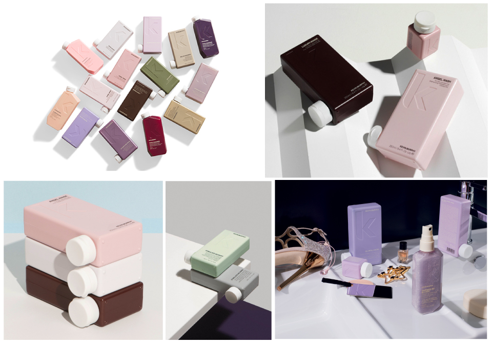 Kevin Murphy product packaging design 6