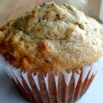 Healthier Banana Nut Oatmeal Muffins