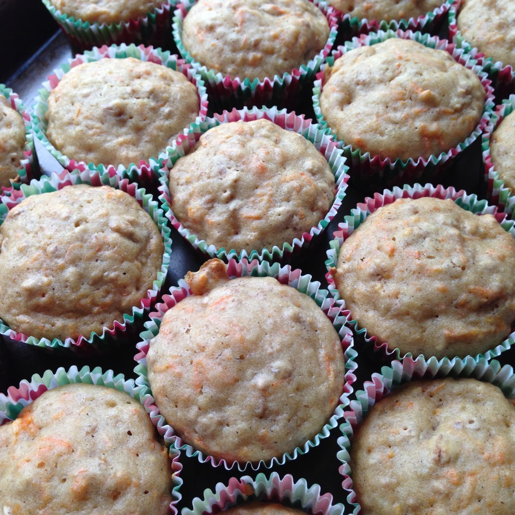 carrot cake muffins2