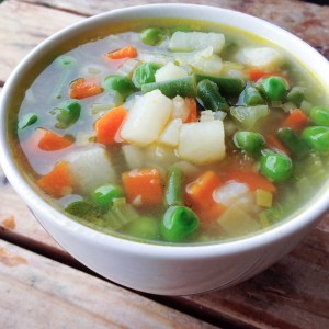 Vegetable Soup - Everyone must learn how to make a vegetable soup from scratch without a recipe!