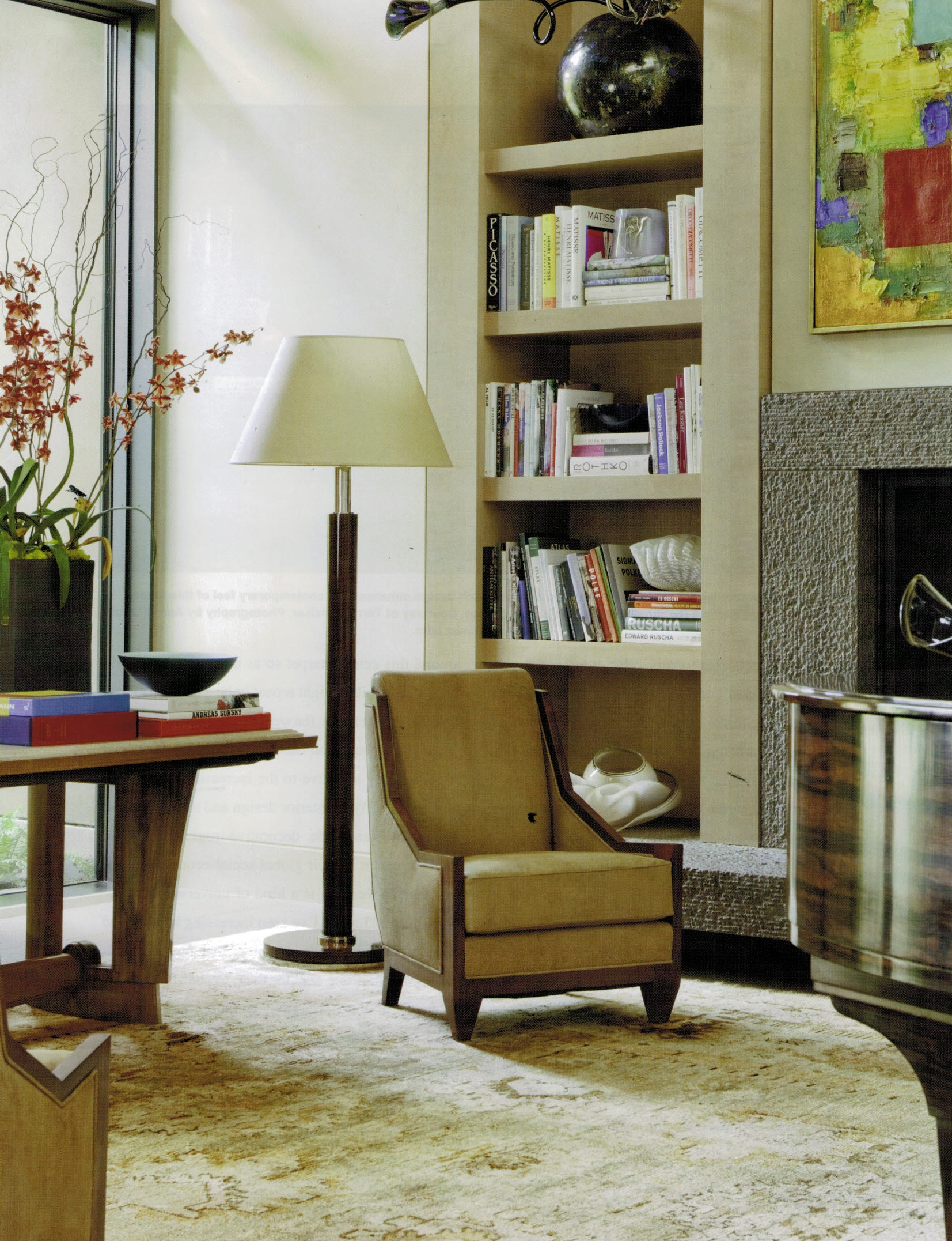 oushak for contemporary home