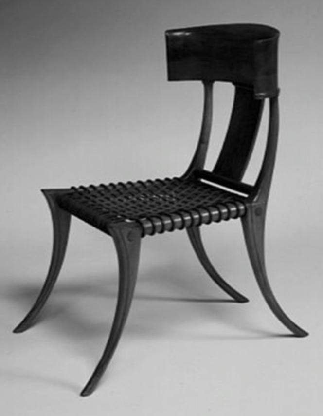 Awe Inspiring Klismos Chair Unemploymentrelief Wooden Chair Designs For Living Room Unemploymentrelieforg