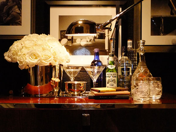 style your bar, home bar, entertainment preparation