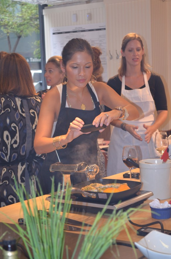 Blogger 19 cooking class, Christy Davis