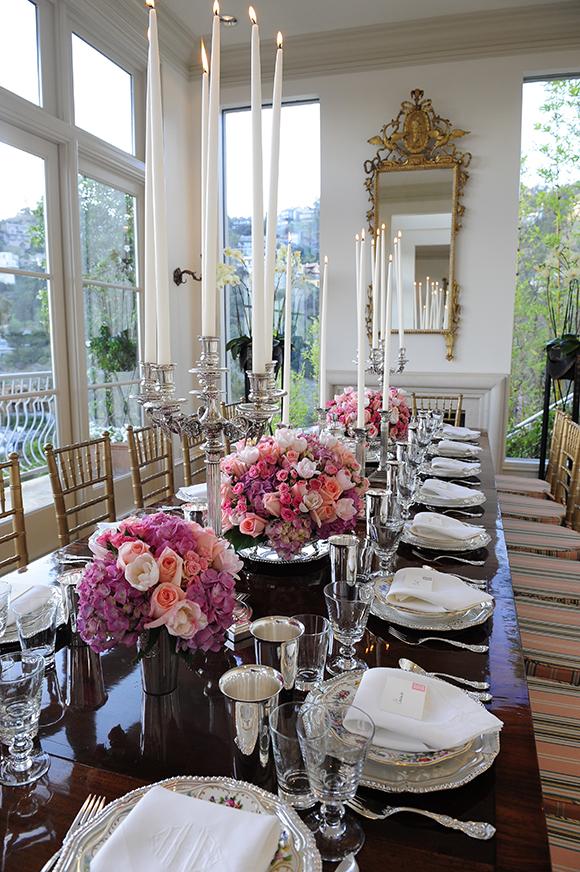 Alex Hitz's dining room