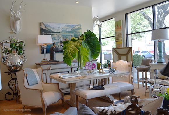 Mecox Store Dallas, home furnishings, white furniture, accessories, art, 75205