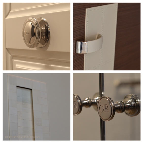 Custom Closet Door Handles, luxury closets, custom closets