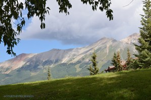 Telluride, mountains, mountain view, view from the Peaks