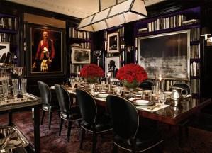 Ralph Lauren, Apt No1, Dining Room, British Decor, Interior Design
