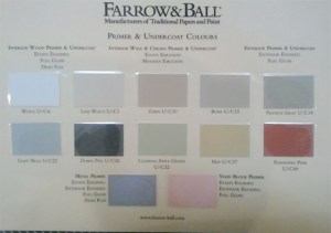 Farrow and Ball Undercoat, Base Coat, Primer