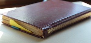 Leather Blank Book
