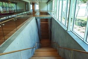 Kimbell Interior of Renzo Piano Pavilion