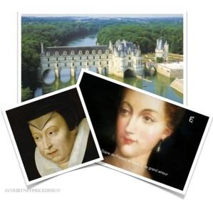 Chenonceau, de Medici, de Poitiers, Francis I, King of France, Chateau