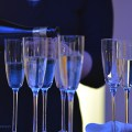 Champagne at a party