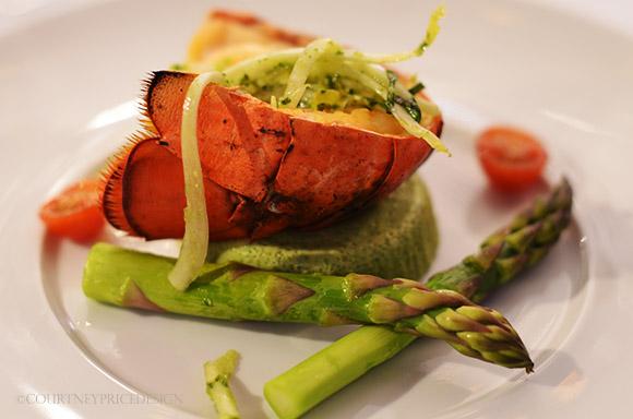 Lobster, Food Presentation Pointers on www.CourtneyPrice.com